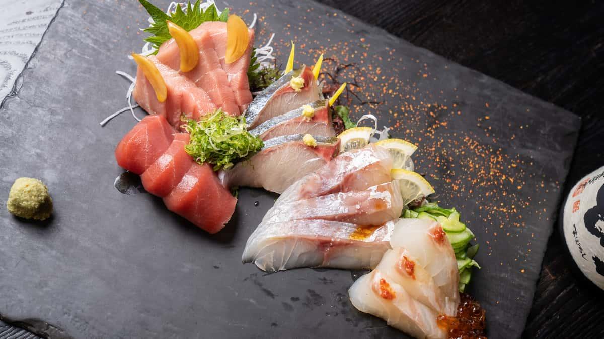 15 piece chef's choice sashimi