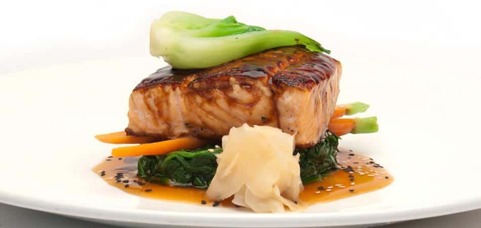 Pan Roasted Scottish Salmon