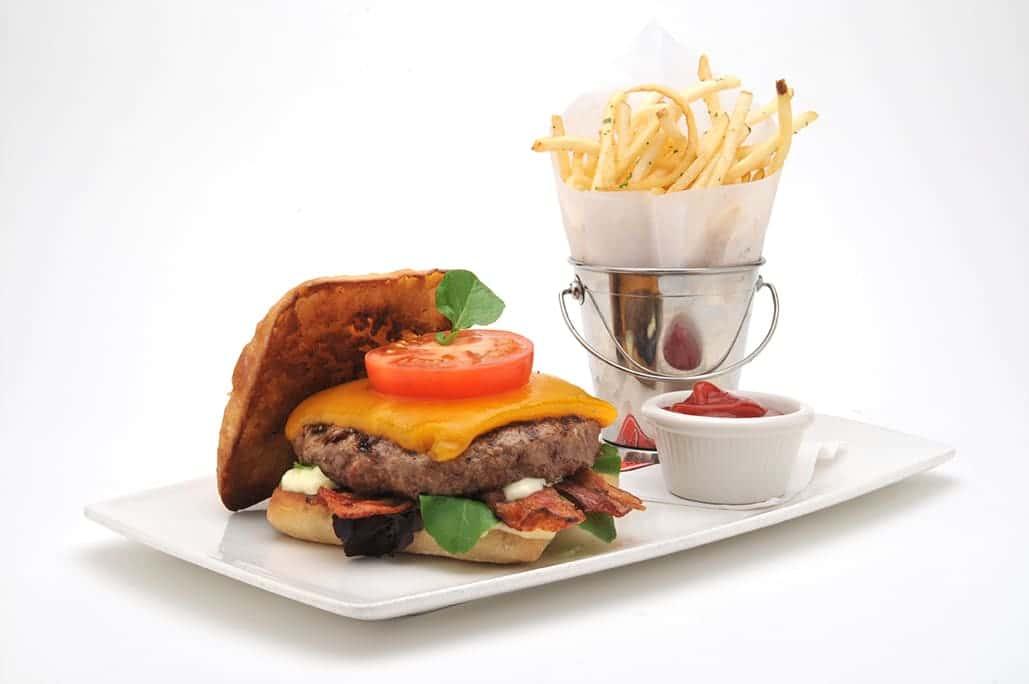 Bacon Cheese Burger (8oz)