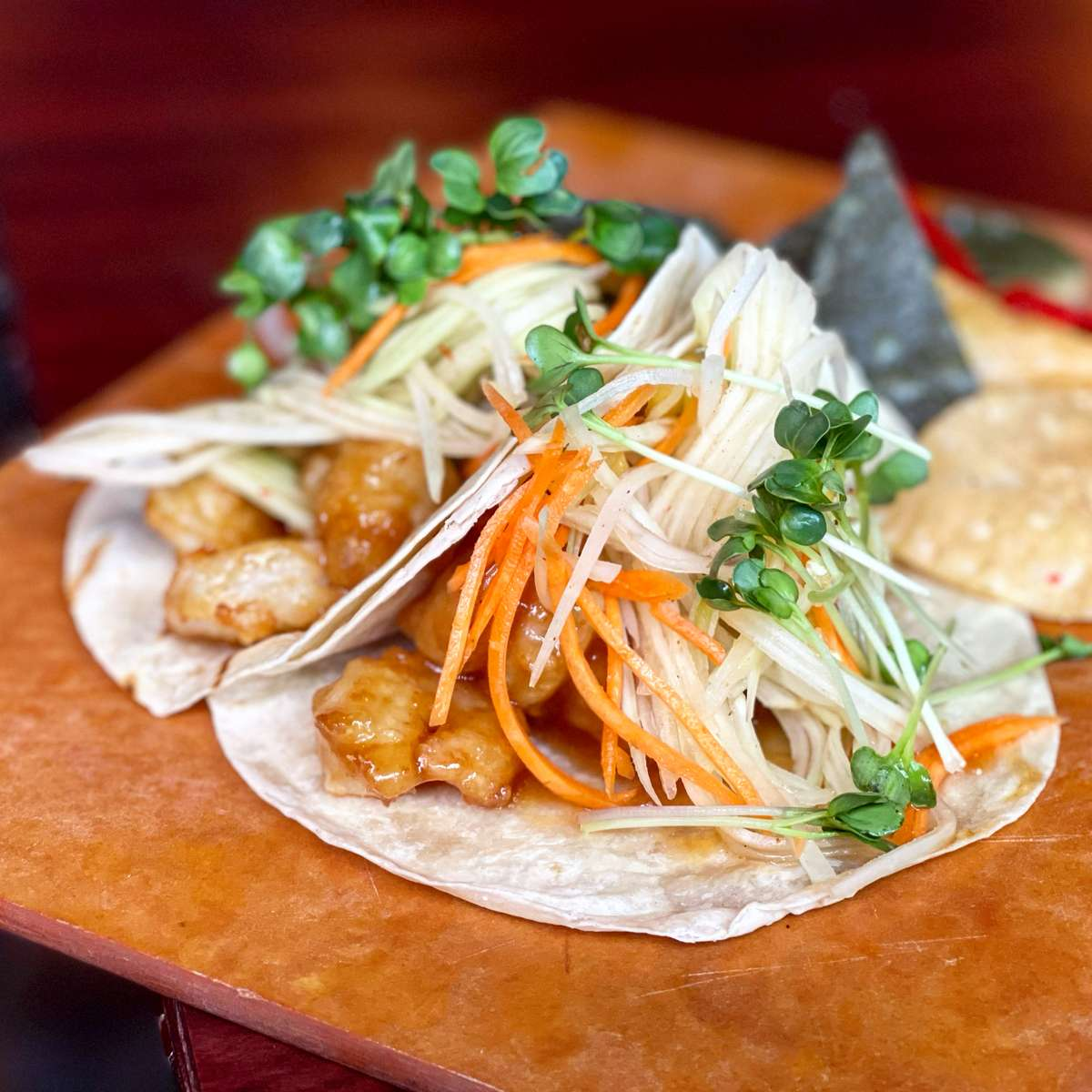 Rock Shrimp Tacos