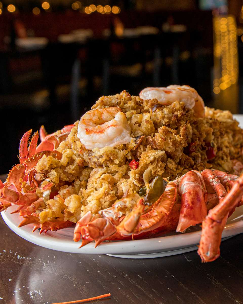 2lb. new england baked stuffed lobster