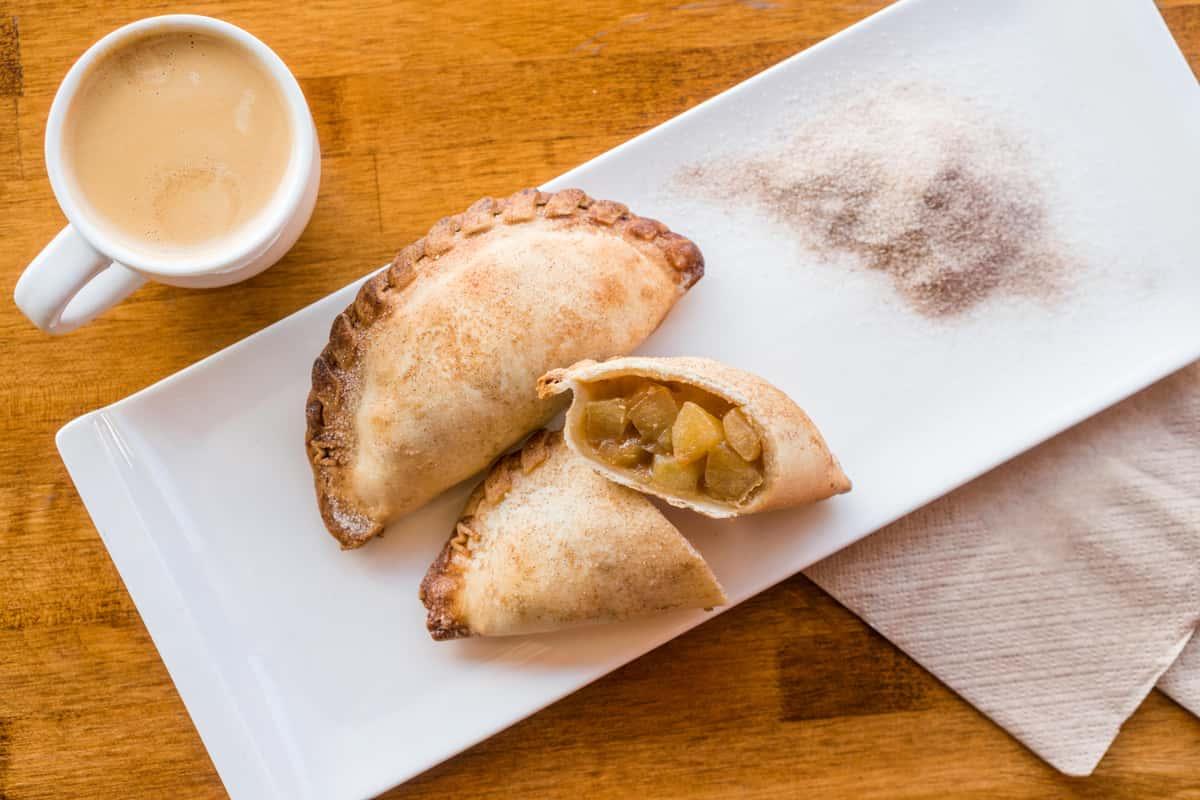 empanadas and coffee