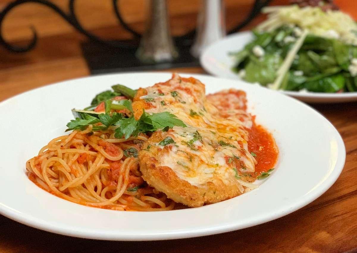 Pollo alla Parmigiana