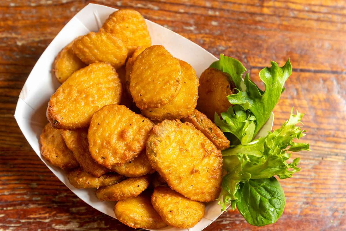 Jerry's Fried Pickles