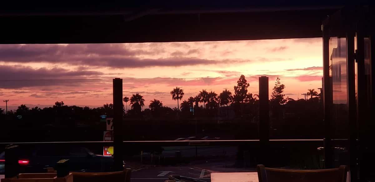 Sunsets at the OC Tavern