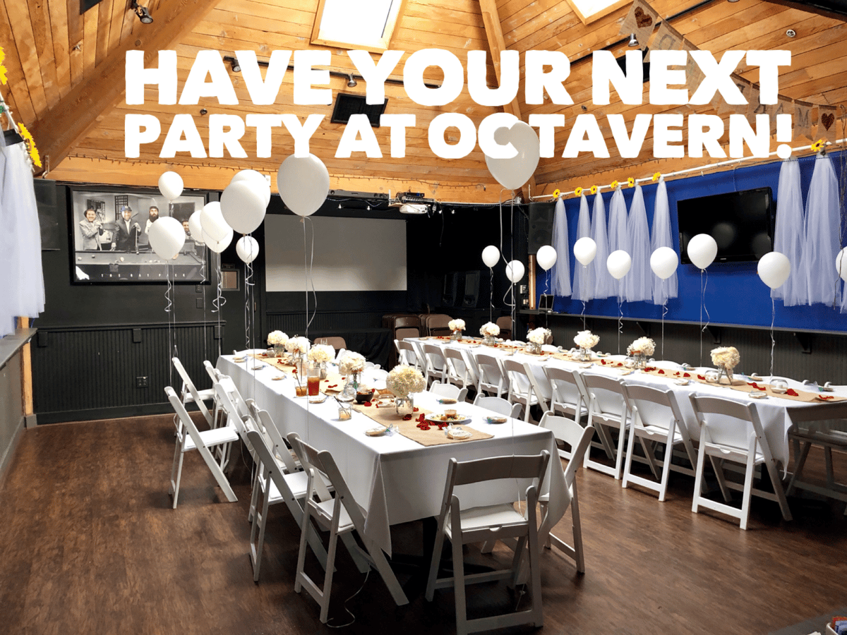 Have your next party at the OC Tavern