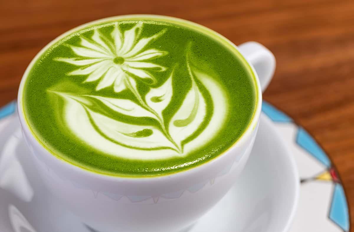 Japanese Tea Latté
