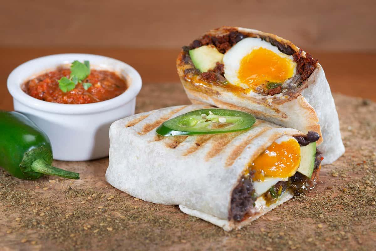 Huevos Rancheros Burrito