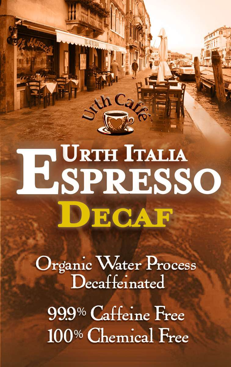 Bag of Urth Italia Espresso Decaf