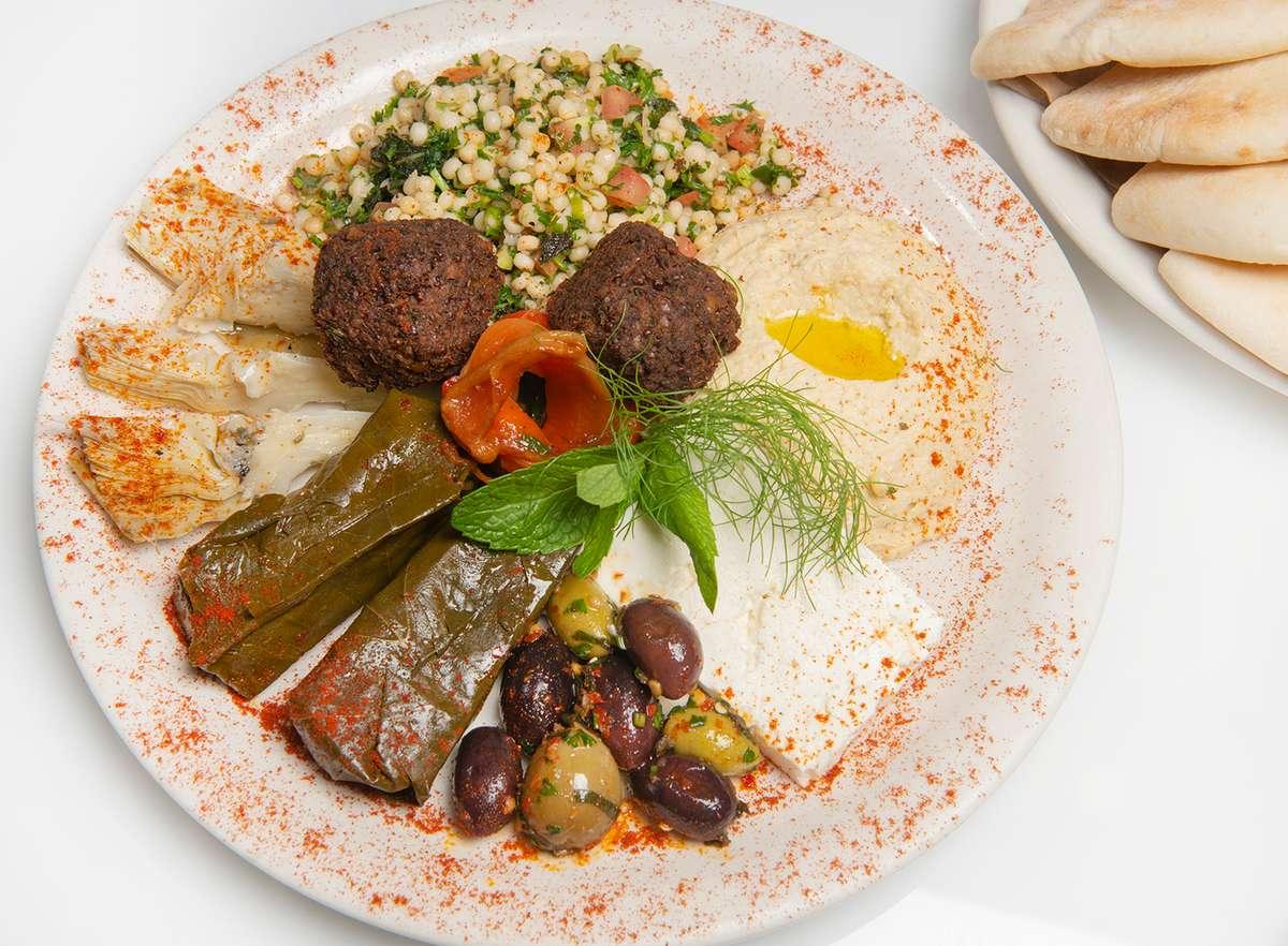 The Mediterranean Platter
