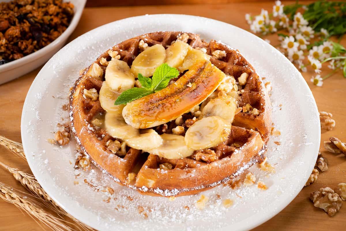 Banana Nut Waffle