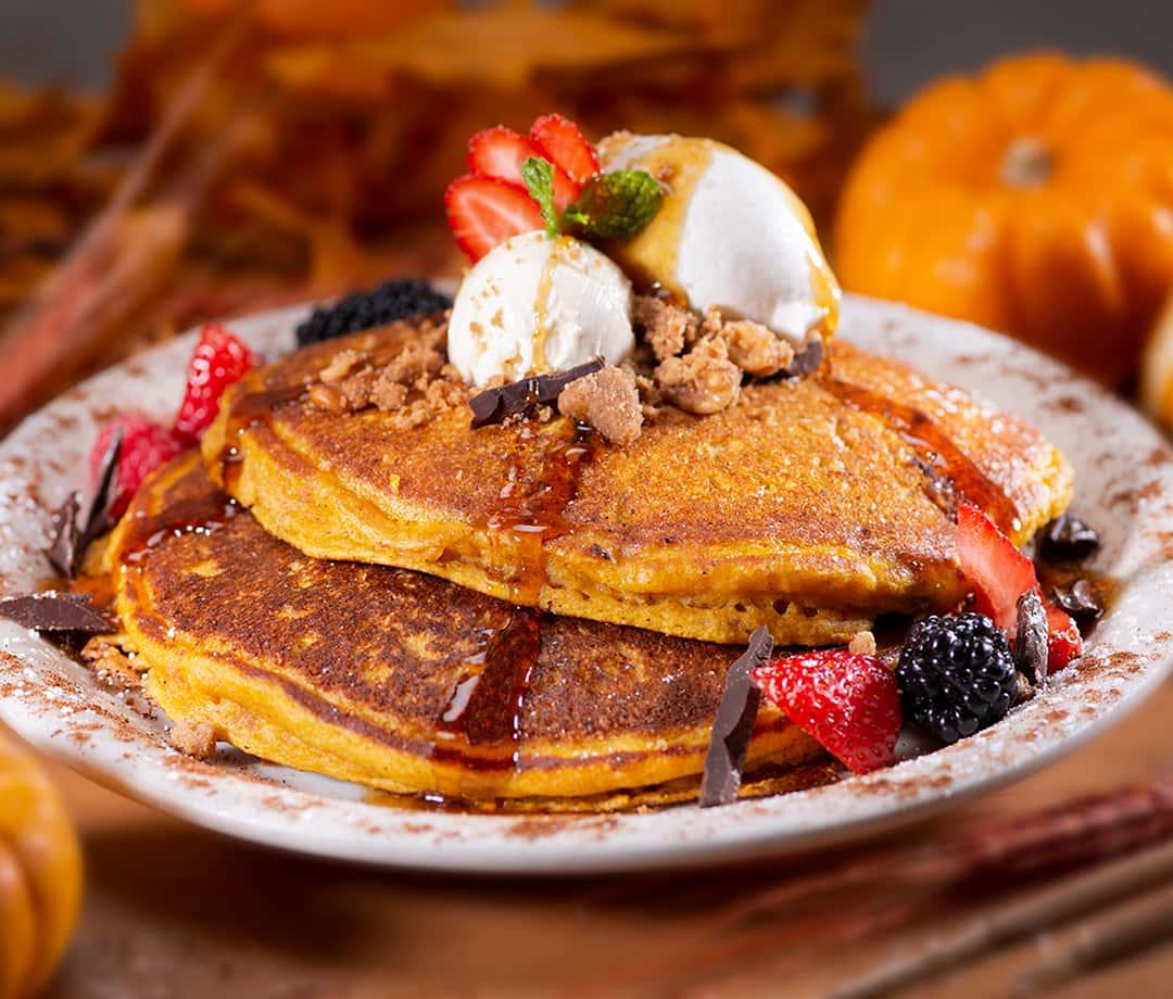 Urth Pumpkin Pancakes
