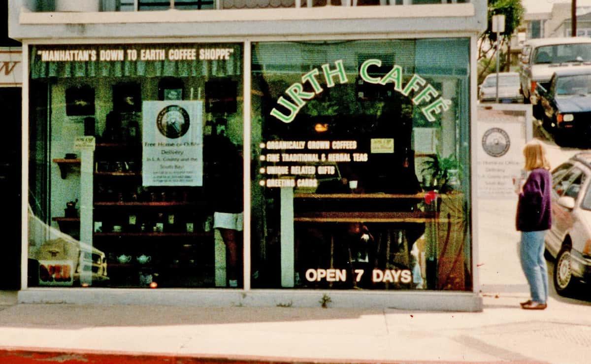 The front of Manhattan Beach Urth Caffe