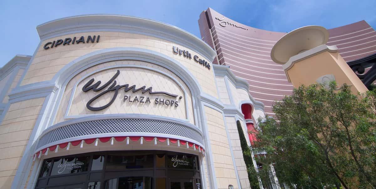 Entrance to the Wynn Plaza Shops in Las Vegas