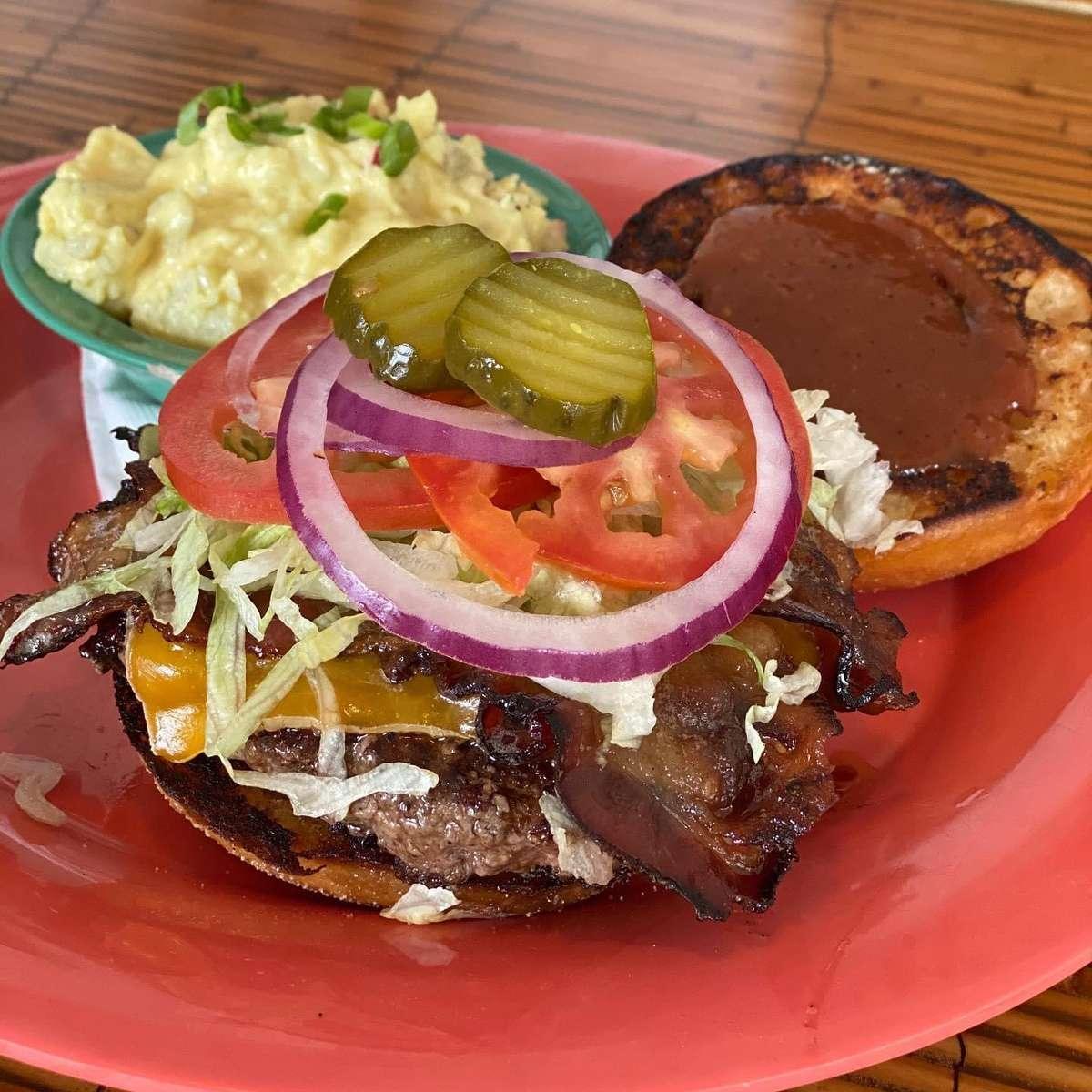 ½ Pound 40 Burger