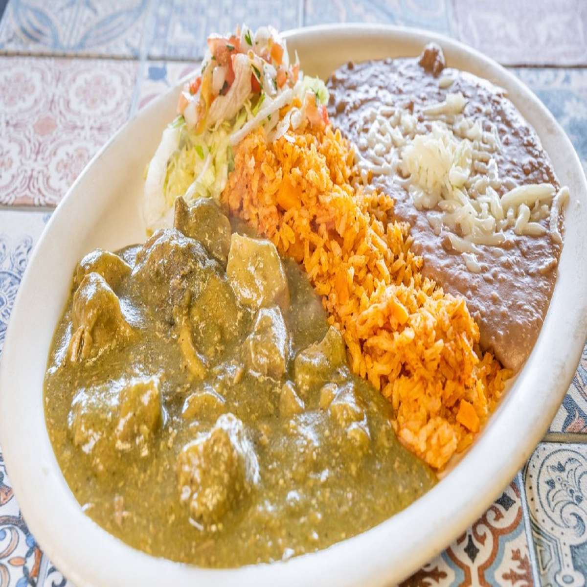 Green Chile Plate