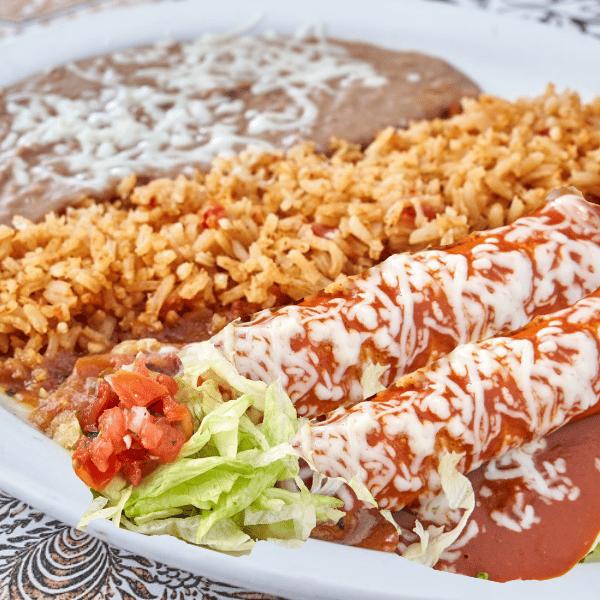 Two Enchiladas