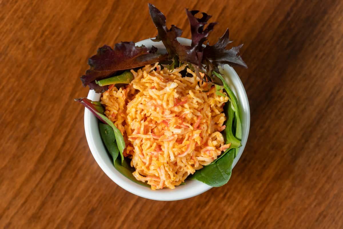 Spicy Crab Meat Salad