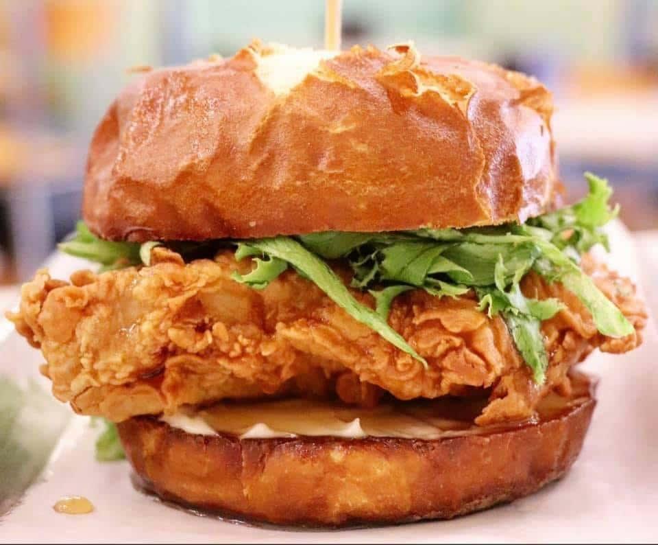 Hot Honey Chicken Sandwich