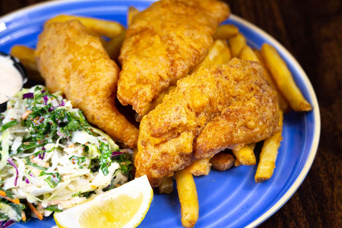 Double Down Fish & Chips