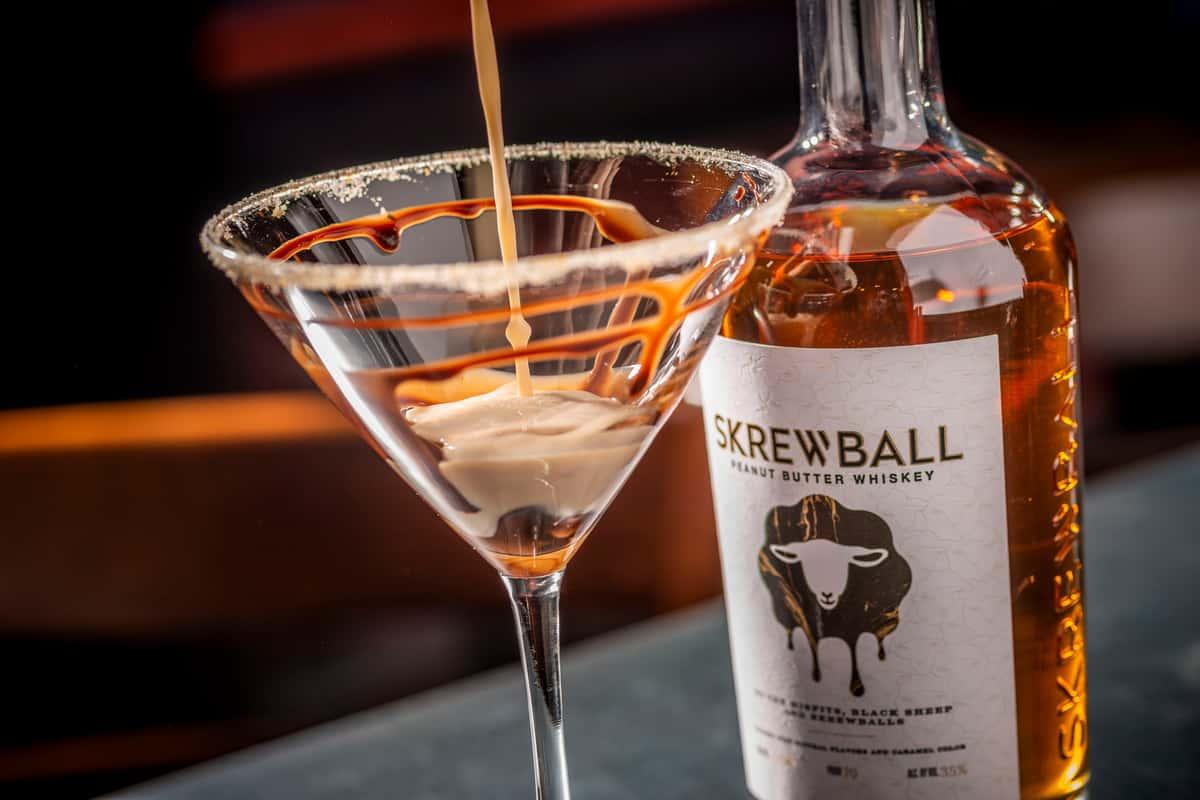 Skrewball Martini