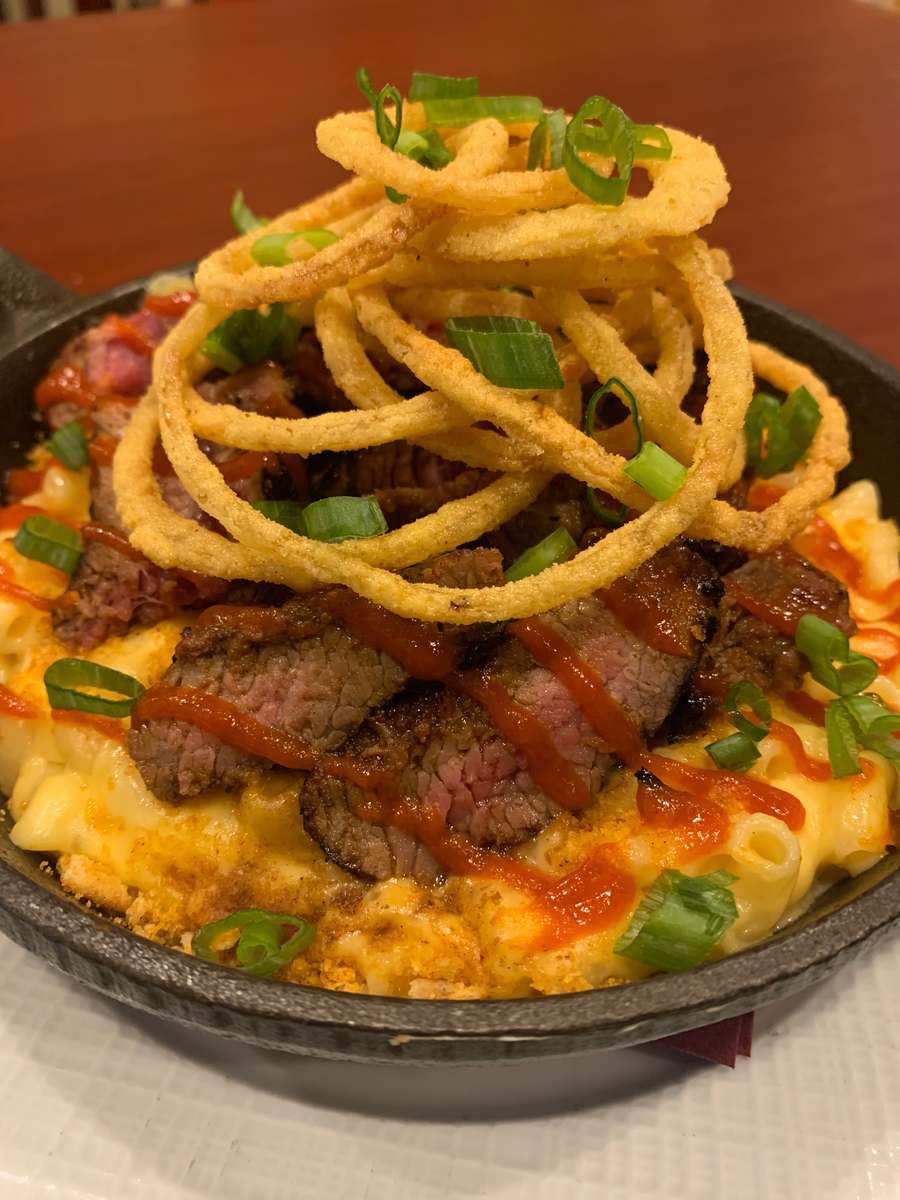 *Sriracha Steak Tip Mac