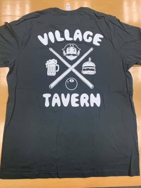 Pool Stick Black (Support Staff Shirt)