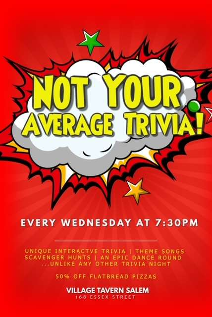 Not your Average Trivia