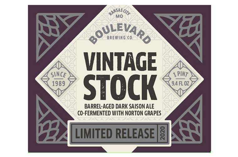 Boulevard Brewing Vintage Stock