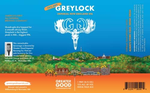 Imperial Double IPA: Greater Good Greylock