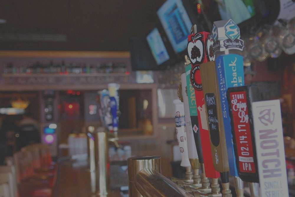 shot of the bar