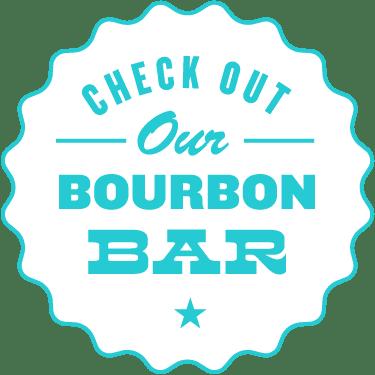 check out our bourbon bar
