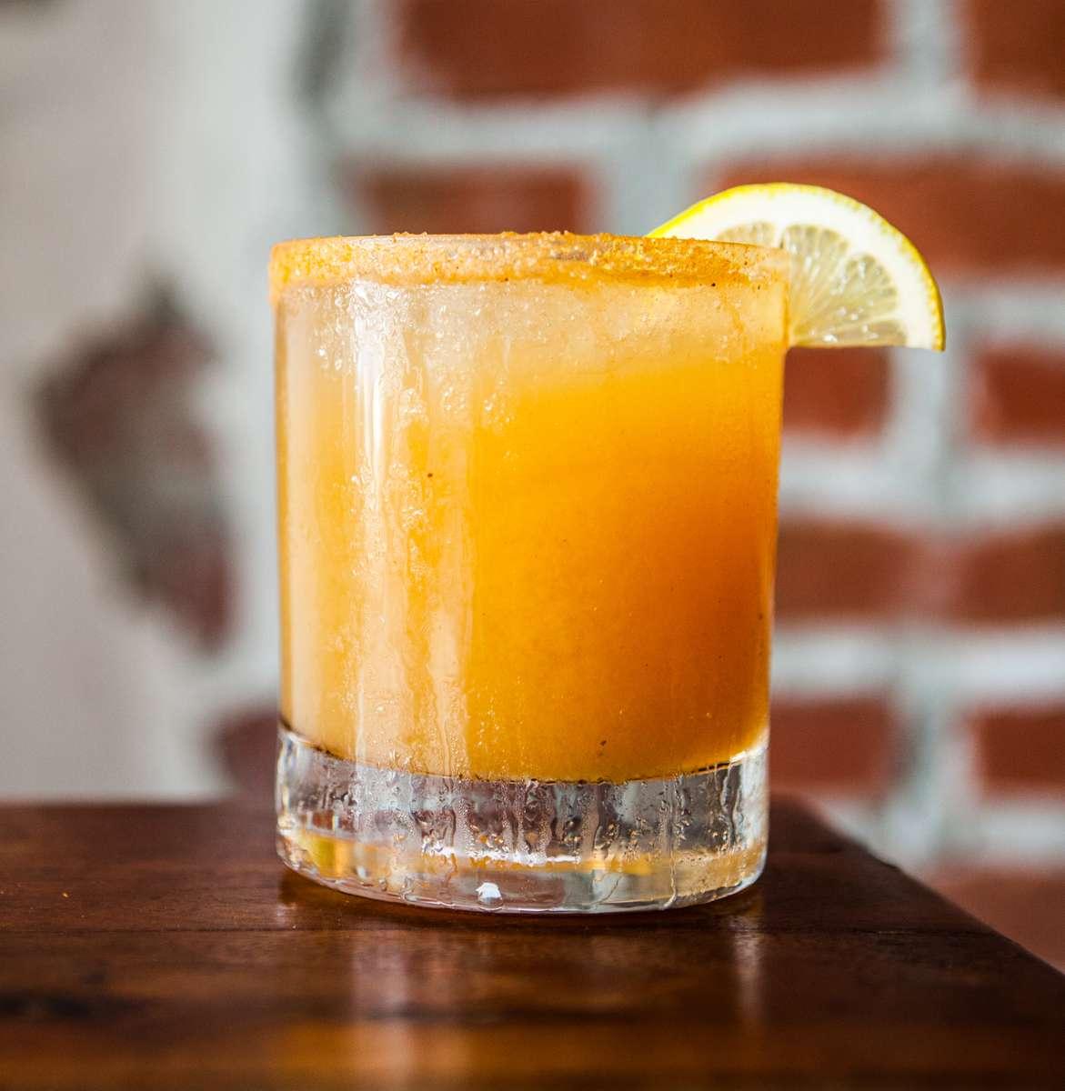 Apple Cider Whiskey Sour