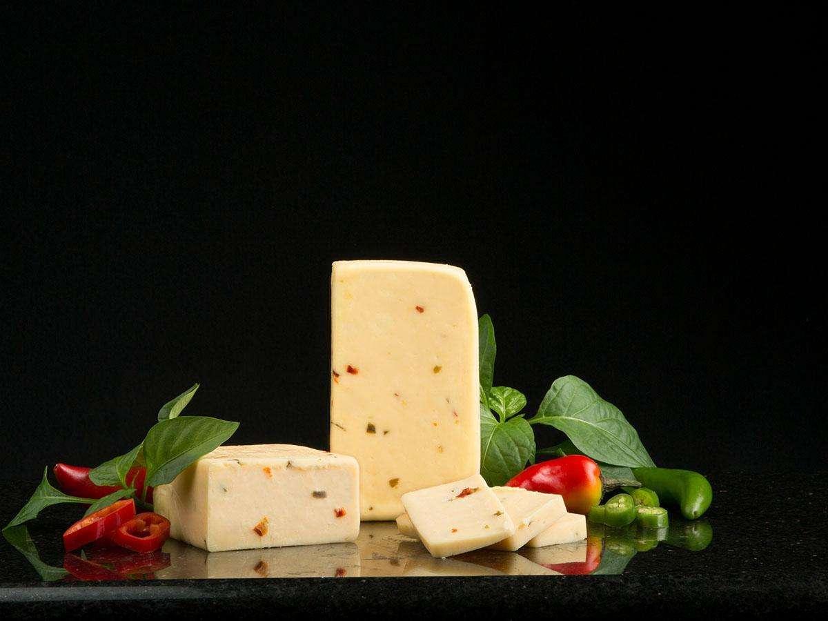 Cream Havarti Cheese with Jalapeño