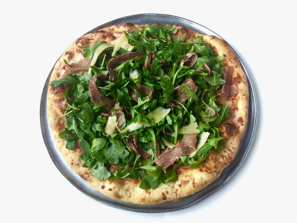 Proscuitto e Arugula Pizza