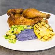 1/2 Smoked Hili Huli Chicken