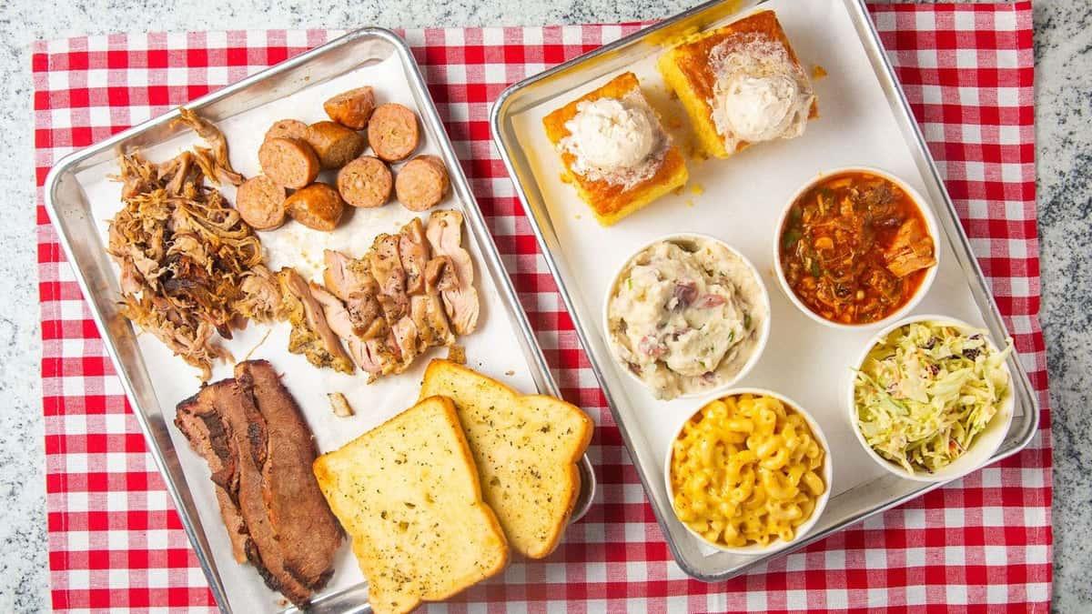 bbq food platters