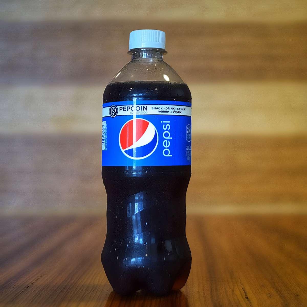Pepsi 20 oz bottle