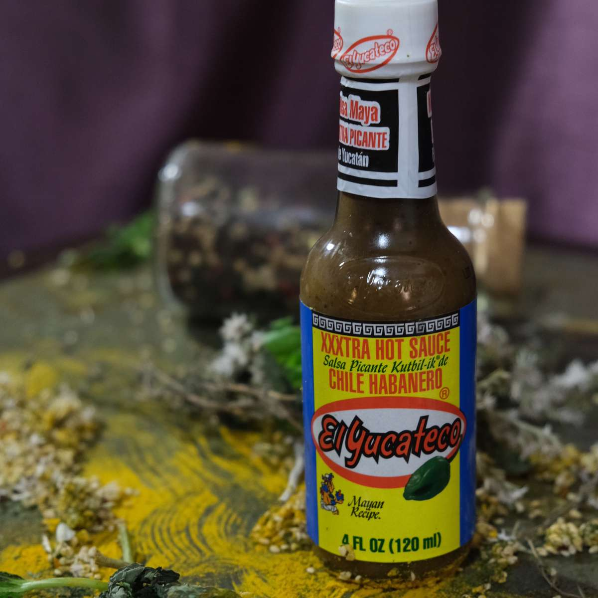 El Yucateco XXXtra Hot kutbil-ik de chile habanero