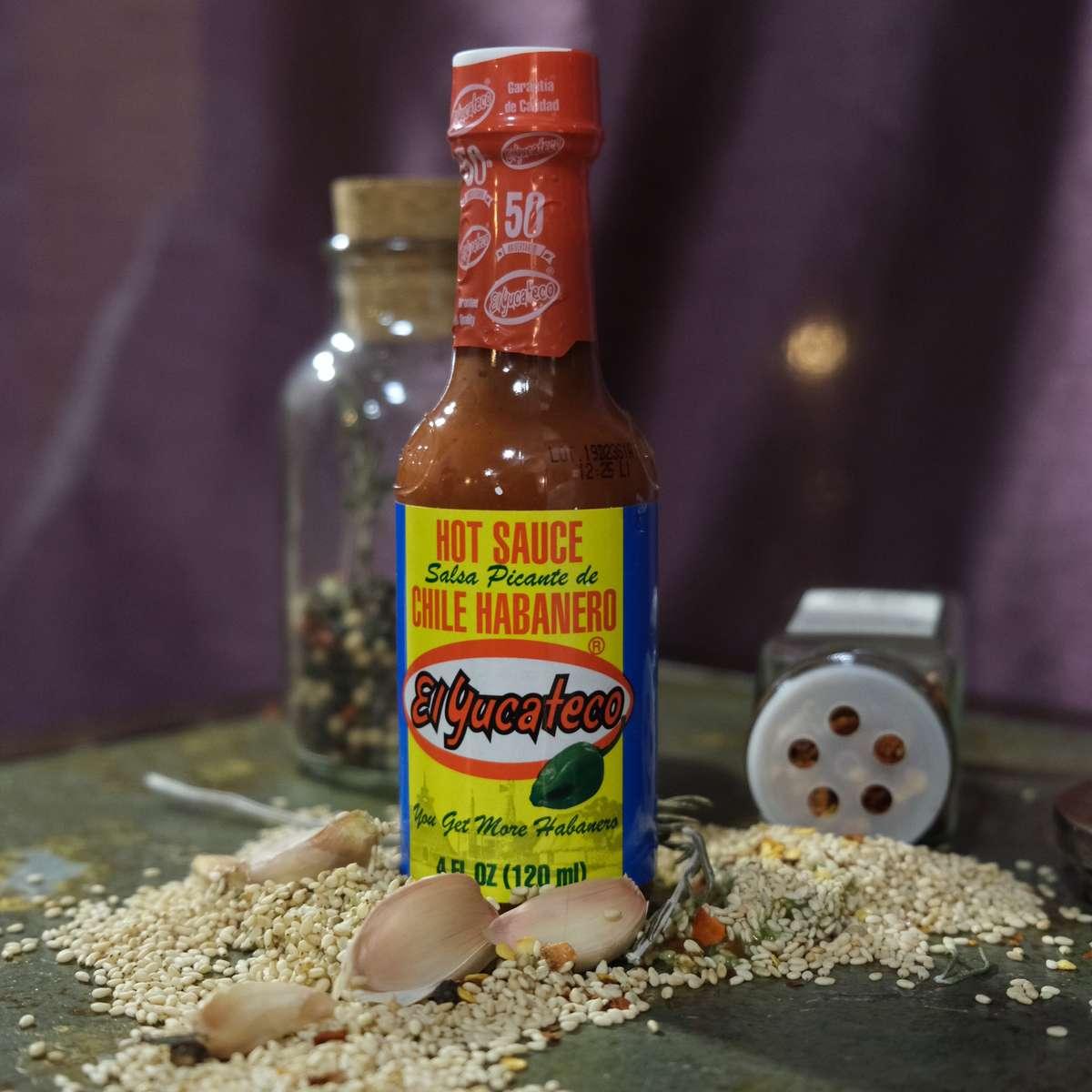 El Yucateco Habanero Red hot sauce