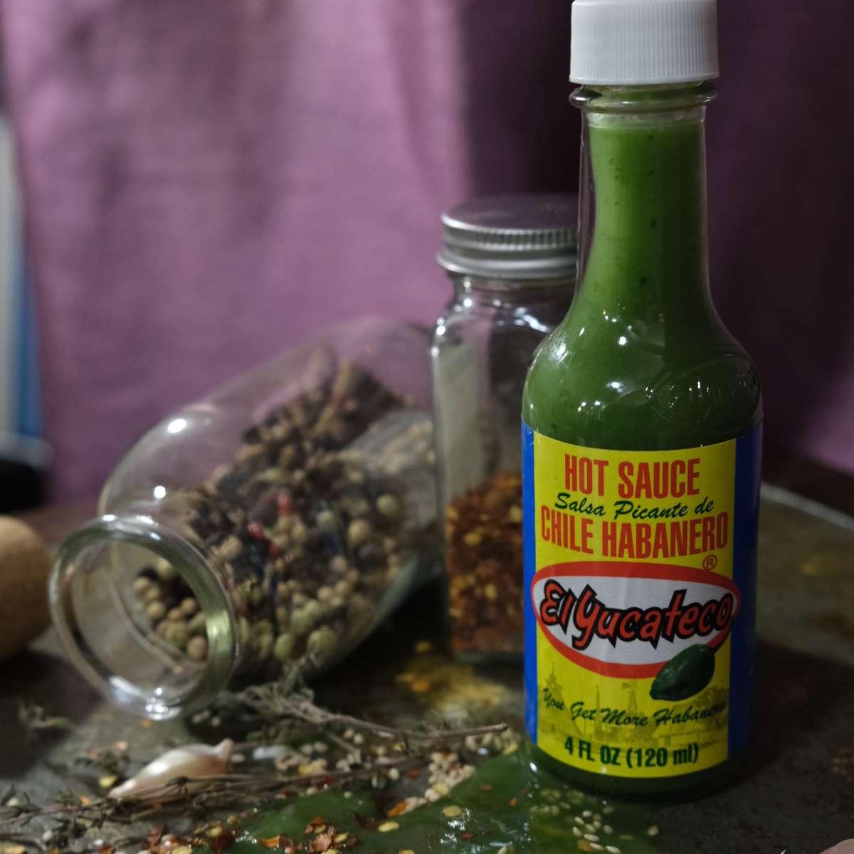 El Yucateco Habanero Green hot sauce