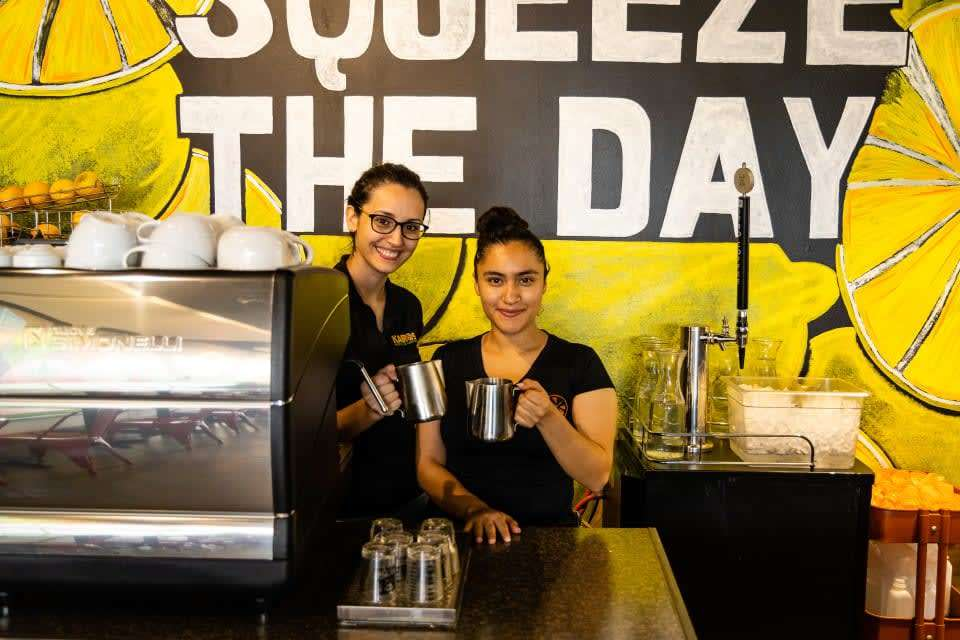 Employees at Kairos Juices Food and Smoothies in Jacksonville, FL