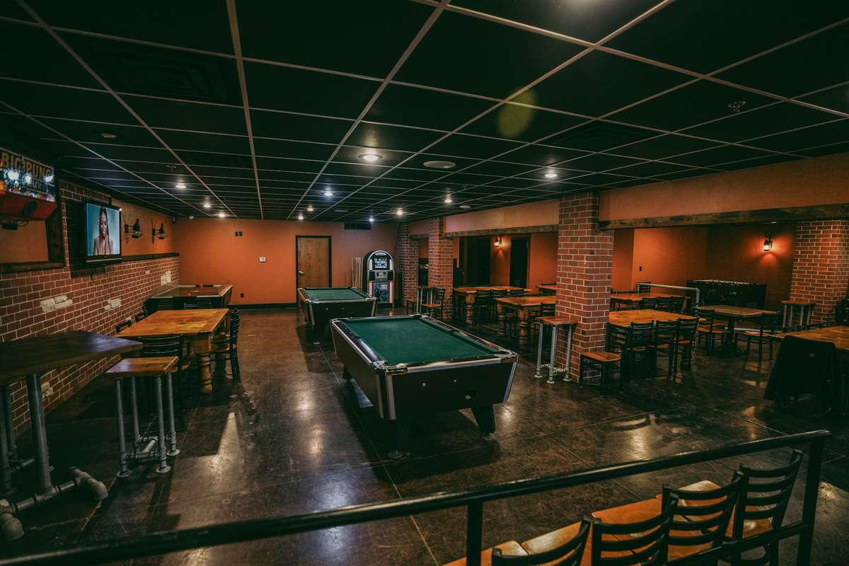 interior with pool table