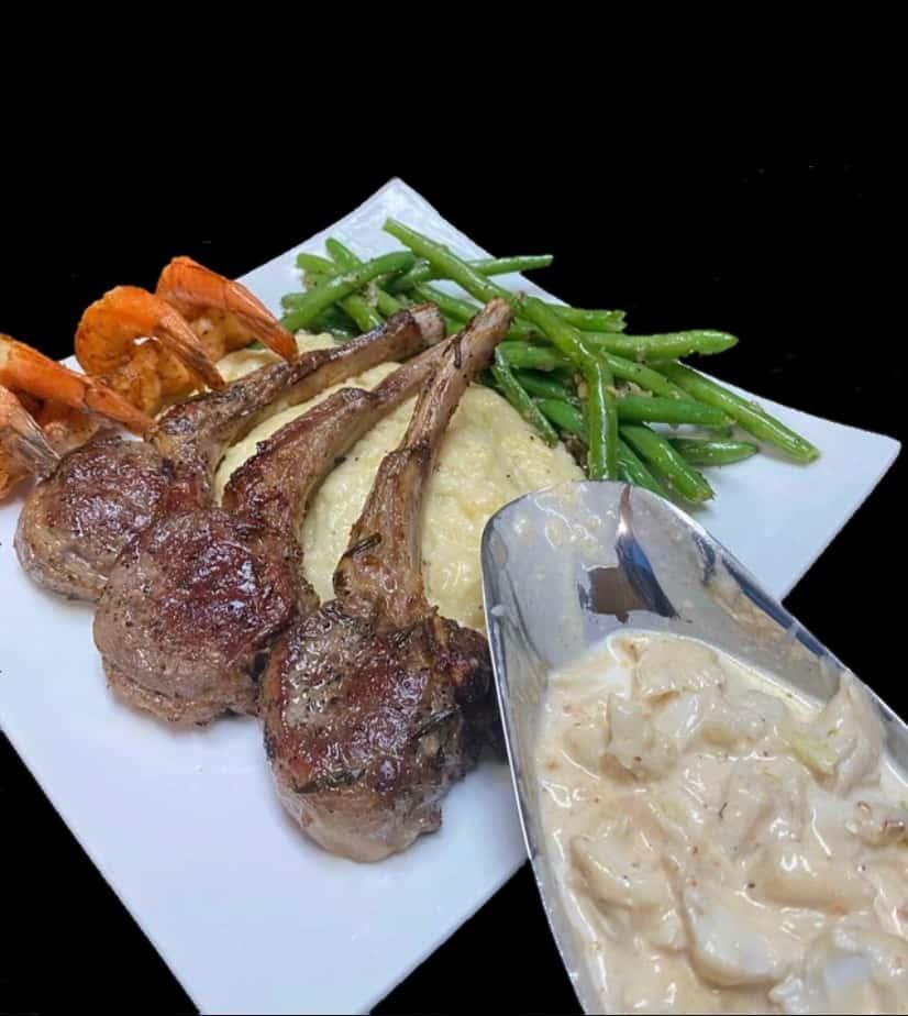 lamb and gravy