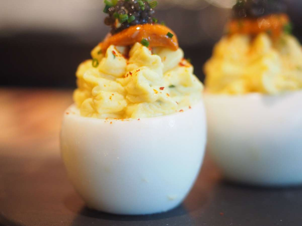 Deviled Hoover Ranch Eggs