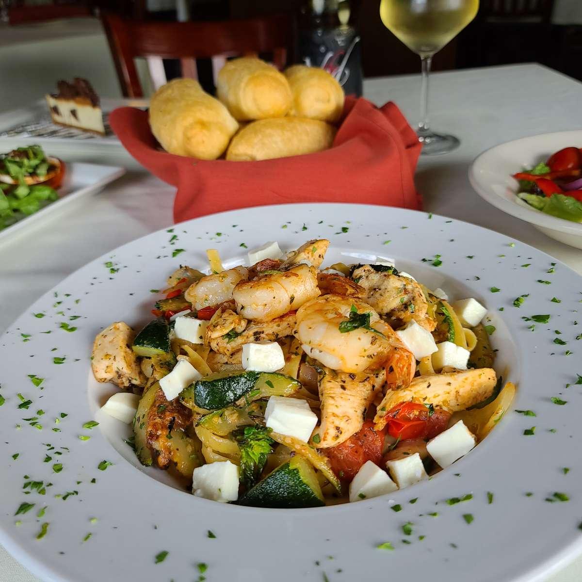 Garlic & Basil Pasta
