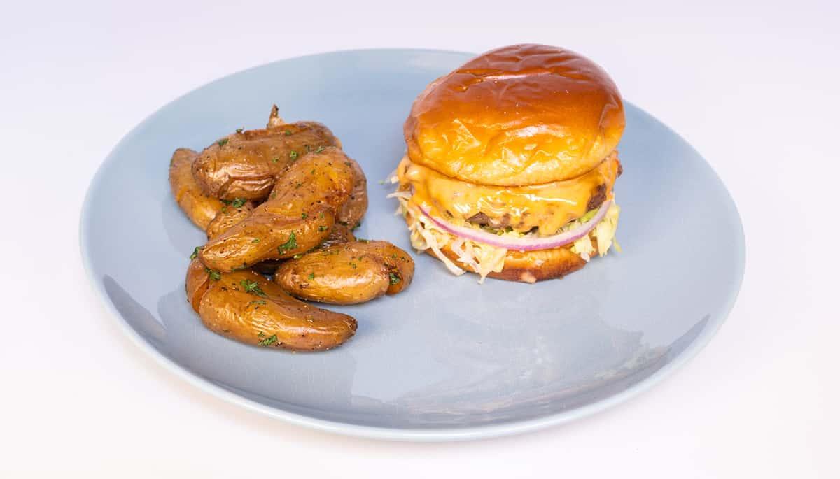 Grass Fed Brunch Burger