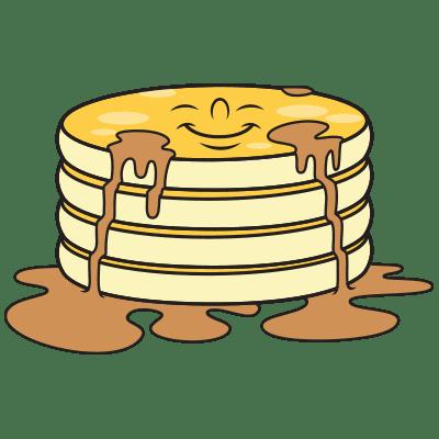 Smiling pancakes