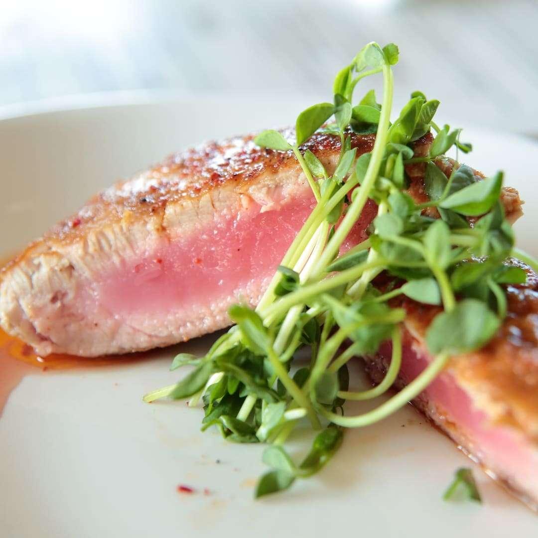Pan-Seared Yellowfin Tuna *