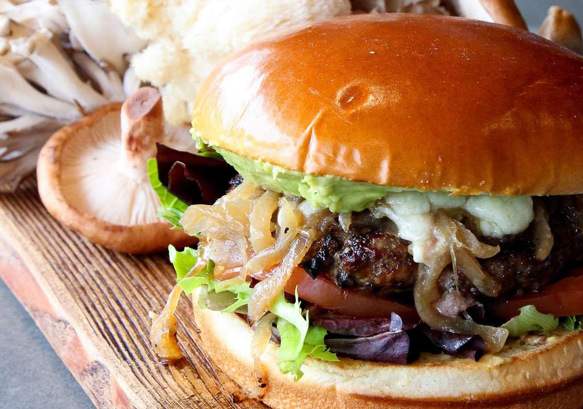 parallel burger